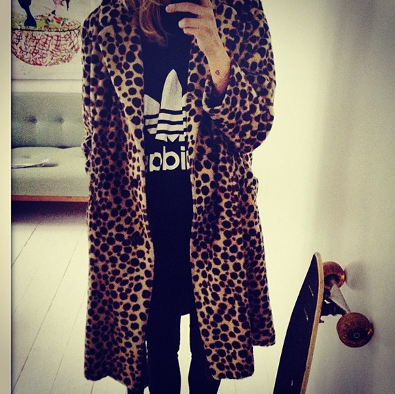 leopard coat via anywho